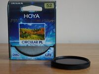 Circular PL (polariser) filter - Hoya Pro1 52mm - REDUCED!
