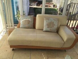 Lovely Art Deco style chaise long, as new condition. Cost six hundred pounds when new!