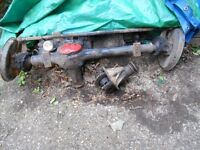 suzuki sj front axle complete and a extra diff (see pictures)