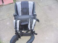 MOTHERCARE BABY CARRIER BACK PACK TYPE IN GOOD CONDITION COST £145