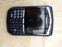 2 Blackberry 8700 mobile phones complete with iphone charger and USB lead etc.