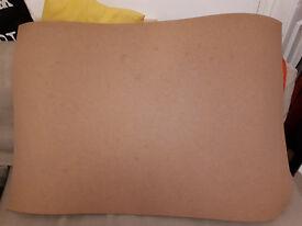 large cork sheet 63cm x 94cm