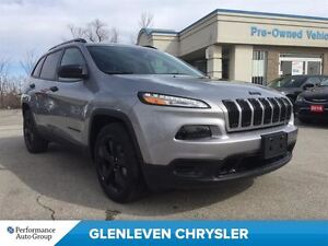 2016 Jeep Cherokee DEMO ALTITUDE, COLD WEATHER GROUP, BACK UP CA