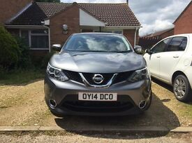2014 NISSAN QASHQAI ACENTA DIG-T SMART VISION PETROL GREY MANUAL