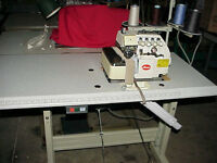 Used Industrial Lockstitch and an Overlocker Sewing Machines for sale