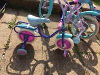 Disney frozen bike used toddler size