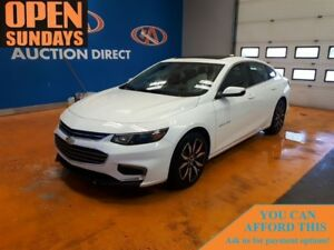 2017 Chevrolet Malibu LT SUNROOF! LEATHER! FINANCE NOW!