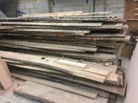 Oak Planks, Kiln dried, boards, waney edge, timber