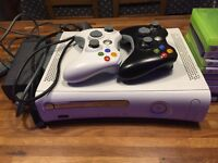 Xbox 360 + 2 controllers and 10 games excellent condition