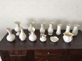 Selection of Belleek Ornaments