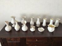 Selection of Belleek Ornaments