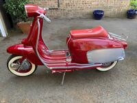 Lambretta LI 125 Special with a race engine, used for sale  West Molesey, Surrey