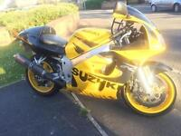Stunning looking GSXR 600 SRAD low miles