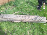 NASH CARP FISHING 3 ROD SET UP ROD HOLDALL GOOD CONDITION