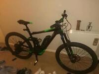Cube stereo race electric mountain bike