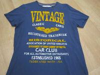 VINTAGE CLASSIC CAR T - SHIRT .
