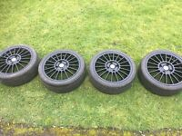 Fox 4x108 16inch alloy wheels