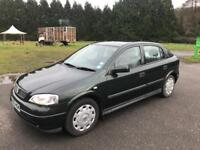 VAUXHALL ASTRA 1.6i Club 5 Door. 2003