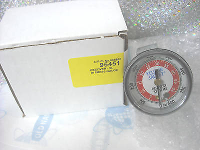 Yellow Jacket Recovery Unit High Gauge Side Gauge Part 95451 Recover-xl Gauge