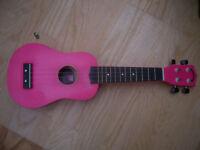 Puretone Ukalele in pink (Brand New)
