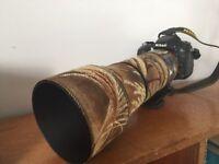 sigma 150-600 nikon lens as new!!