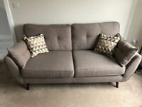 French Connection ZINC Sofa Set - 3 Seater & 2 Seater