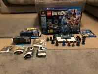Lego Dimensions PS4 starter kit and character sets