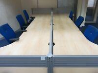 OFFICE CLEARANCE SERVICE desks chairs pedestals etc