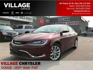 2015 Chrysler 200 C Nav,Leather,Panoramic Sunroof,Remote Starter