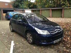 Citroen c4 VTR PLUS HDI with MOT