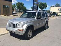 2002 Jeep Liberty LIMITED 4X4 3900$ GARANTIE 1 ANS 514-692-0093