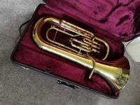 Besson 700 Euphonium/three-quarter Tuba with case and mouthpiece