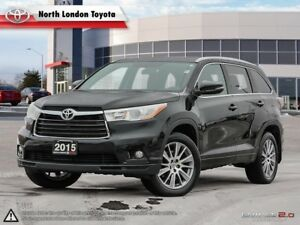 2015 Toyota Highlander XLE Strong and smooth V6, and very com...