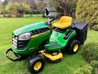 John Deere X135R Ride on Mower - rear collector - Lawnmower - Kubota/Honda/ Countax