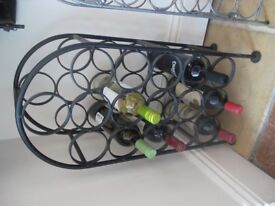 Winerack , 16 Bottle , Very Good Condition .