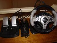 Tevion Gaming Steering Wheel