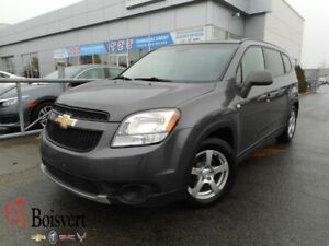 2012 Chevrolet ORLANDO LT 7 PASSAGERS/BLUETOOTH/ CONTROLES AU VO