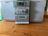 Sony mini cd hi-if, as new