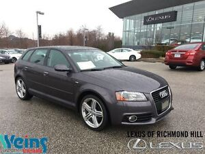 2011 Audi A3 2.0T Premium S-LINE | LEATHER | MOONROOF