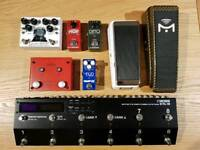 Boss ES-8, Xotic Wah, Wampler mini Ego, Lehle Little Dual and more!