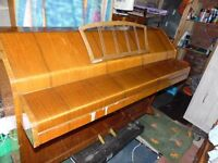 A mini piano as used H>R>H Queen Ingrid of denmark
