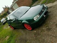 VW Ggolf GTI MK4 12 months mot new brake discs/pads all round stereo n subwoofer in boot - 1200 ono