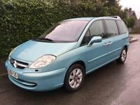 CITREON C8 HDI EXCLUSIVE 7 SEATER