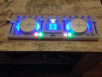 Icon iDJ USB DJ Controller, White
