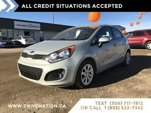 2013 Kia Rio LX+. ACCIDENT FREE! Bluetooth, Heated seats, XM!