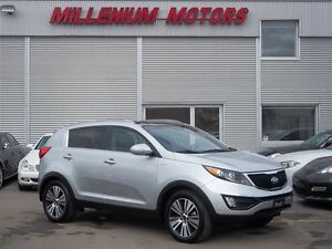 2015 Kia Sportage AWD EX LUXURY / NAVI / B.CAM / LEATHER / SUNRO