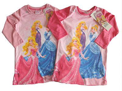 Disney Princess Nachthemd für Mädchen Pyjama Schlafanzug NEU Prinzessin