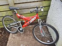 Bike in good condition, SUS 450, £40
