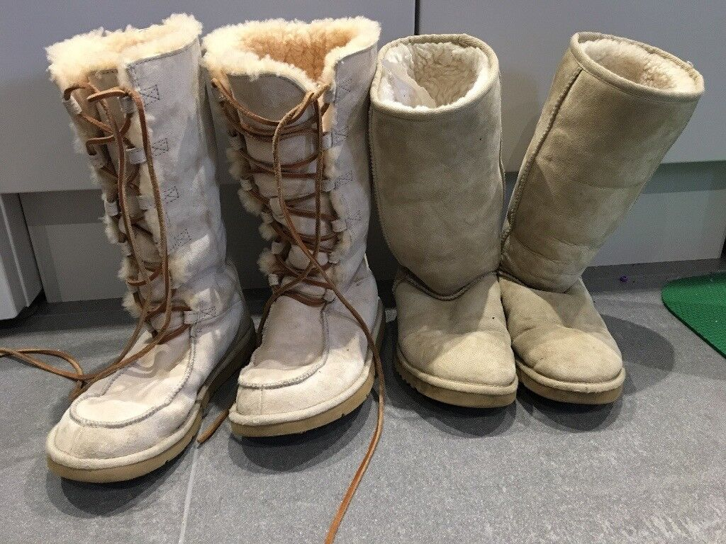 UGGs boots and other brands