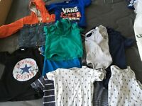 12 month boys clothes bundle - 20 piece